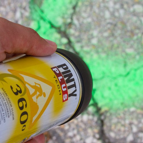 PintyPLus TECH Fluoreszkáló jelölő spray 360º 500ml